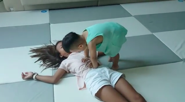 Watch: Daebak Valiantly Tries To Perform CPR On His Sister