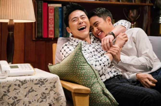 EXO's D.O. And Jo Jung Suk Show Brotherly Love In Still Cuts For New Film