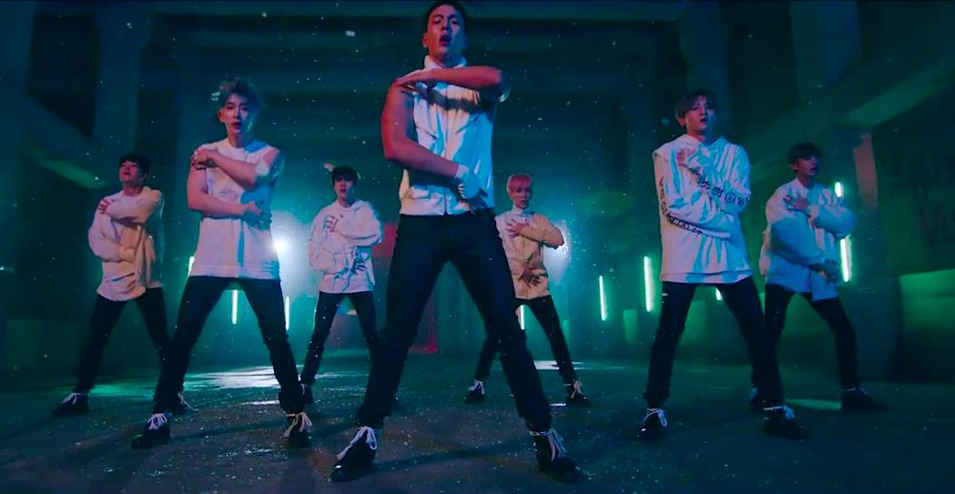"Watch: MONSTA X Drops Dramatic Performance Version Of ""Fighter"" MV"