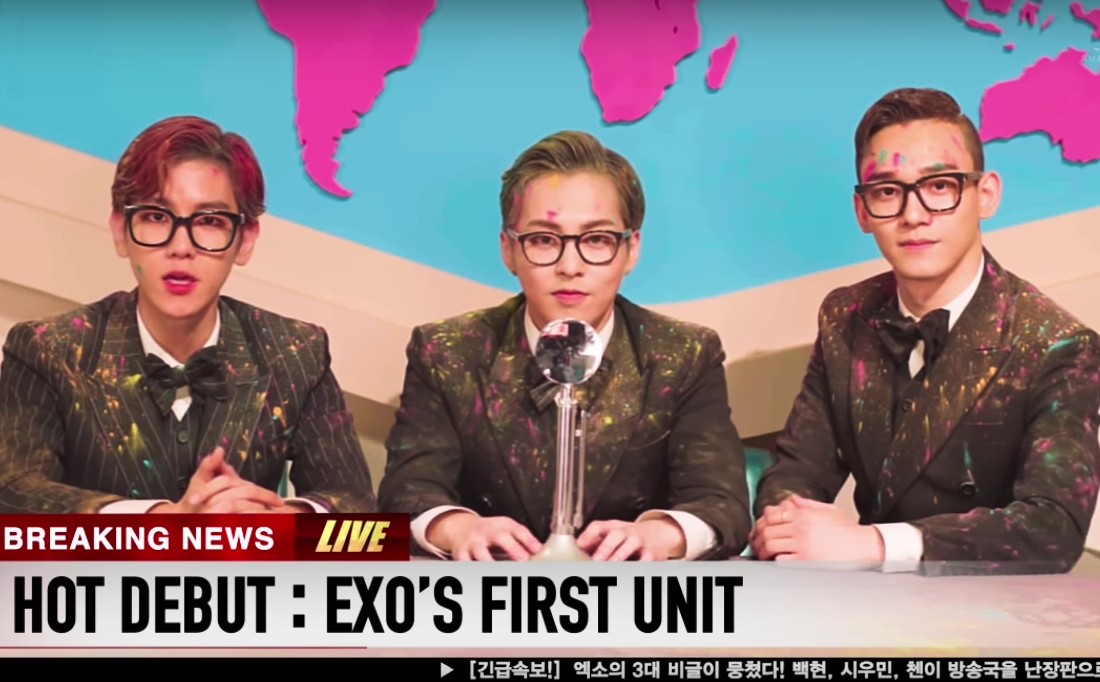Watch: EXO's Xiumin, Baekhyun, And Chen Reveal Everything Yet Nothing About Their Unit