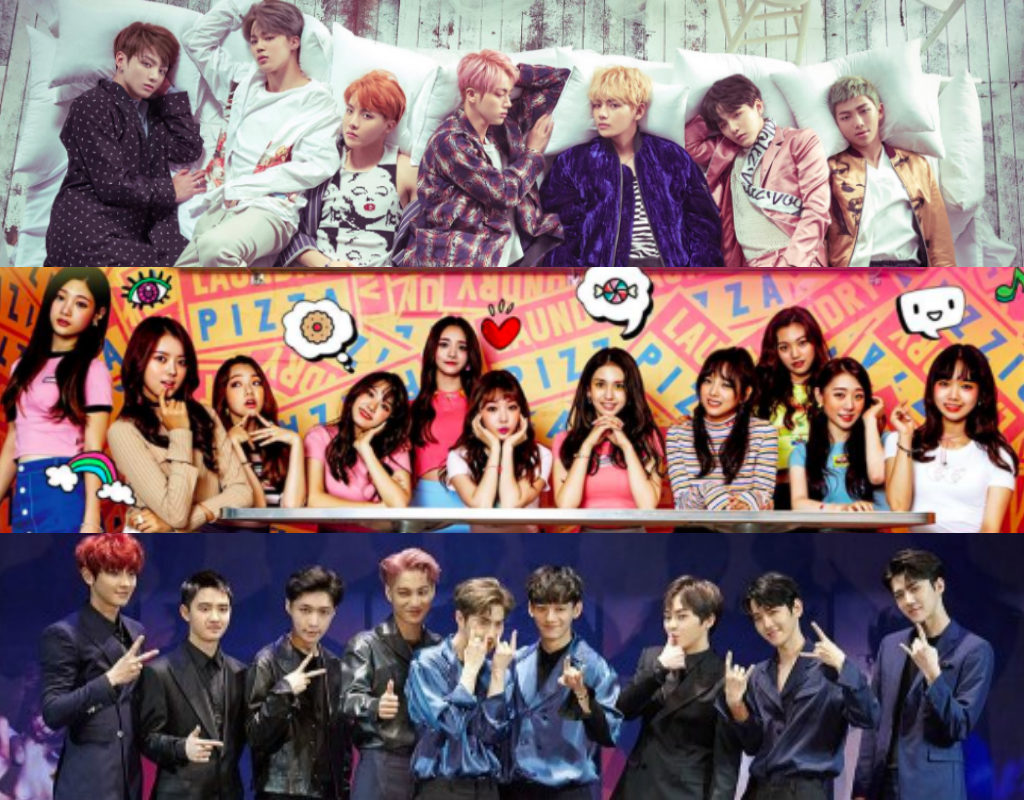 BTS, I.O.I, EXO, And More Vote For The Best Of The Best Among K-Pop Groups