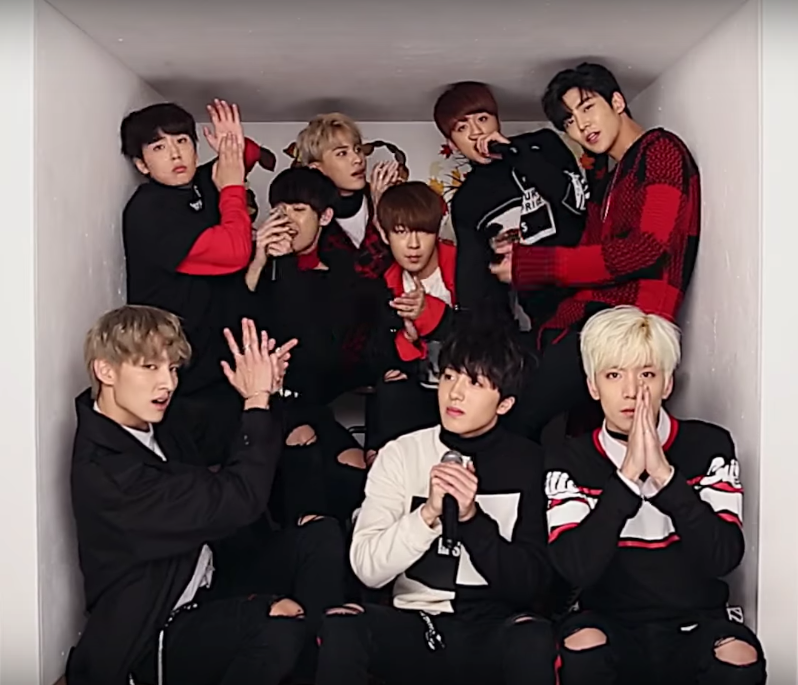 """Watch: SF9 Brings Out The """"Fanfare""""…While Singing In A Box?"""