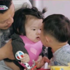 """Daebak Attempts A Noodle Kiss With YDG's Daughter Joy On """"The Return Of Superman"""""""