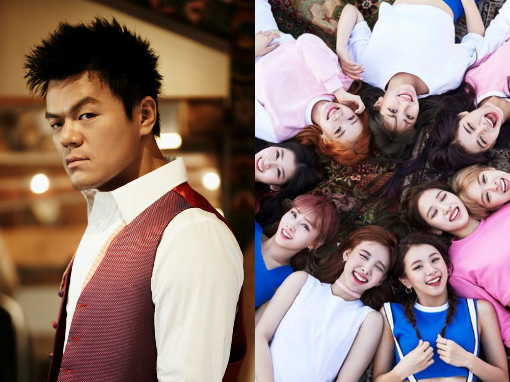 Park Jin Young Congratulates TWICE On An Amazing Year