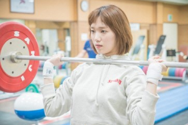 "Lee Sung Kyung Trains Hard In New Stills For ""Weightlifting Fairy Kim Bok Joo"""