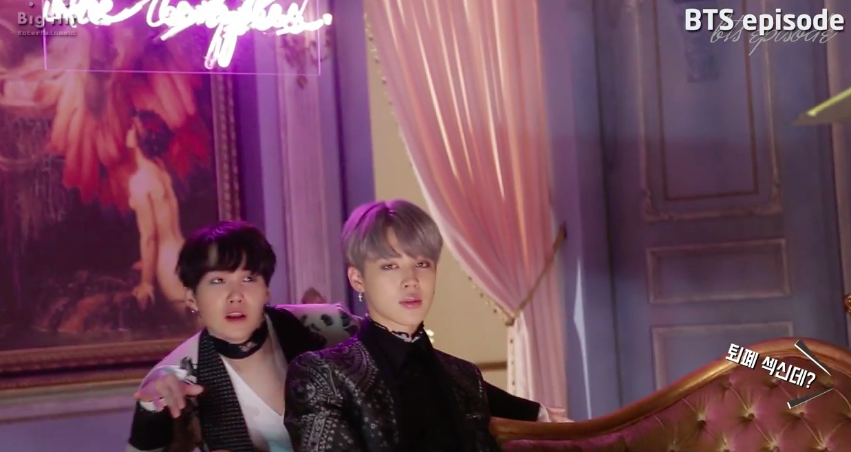 """Watch: BTS Takes You Behind The Scenes Of Their Hit """"Blood Sweat & Tears"""" MV"""
