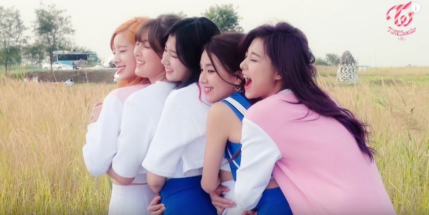 Watch: TWICE Is Silly And Adorable Behind The Scenes Of Their Jacket Photos