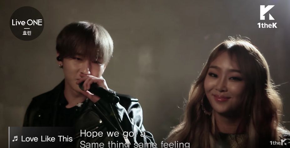 """Watch: MONSTA X's I.M Features In Hyorin's Live Performance Of """"Love Like This"""""""