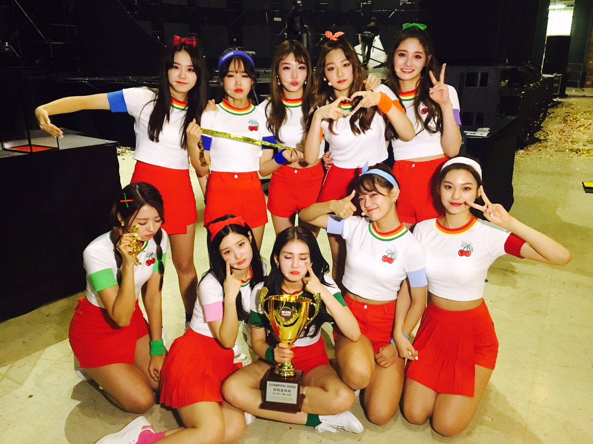 "Watch: I.O.I Takes 1st Ever Full Group Win With ""Very Very Very"" On ""Show Champion,"" Performances By Ladies' Code, SF9, PENTAGON, And More"