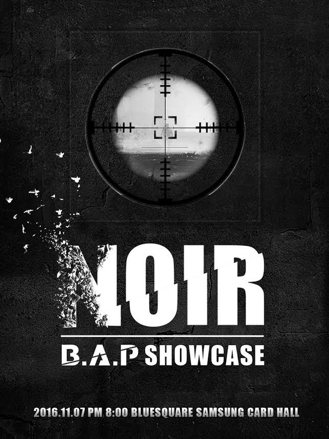 B.A.P showcase poster