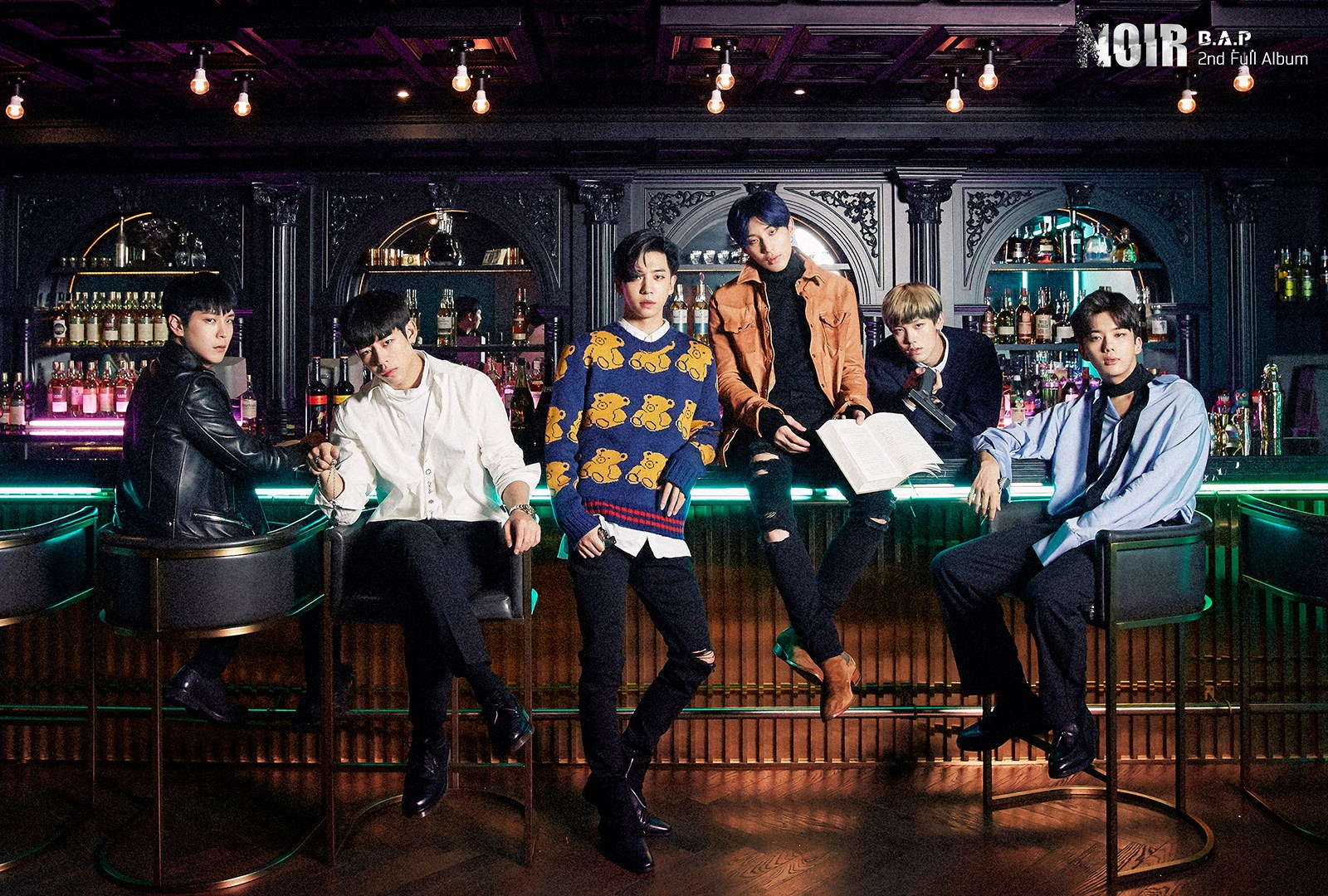 "B.A.P Tops Global iTunes Charts With ""Noir"" 