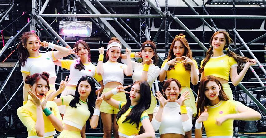 "I.O.I Gets 2nd Win With ""Very Very Very"" On ""M!Countdown"""