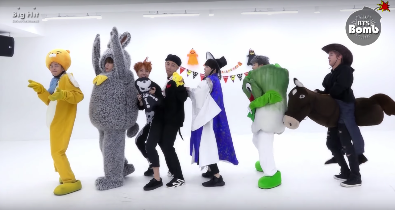 """Watch: BTS Is Looking For Their """"21st Century Girl"""" In New Dance Practice As…Cabbage And Friends?"""