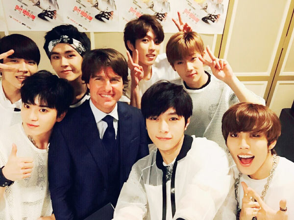 """INFINITE To Reunite With Tom Cruise And Perform At """"Jack Reacher: Never Go Back"""" Red Carpet"""