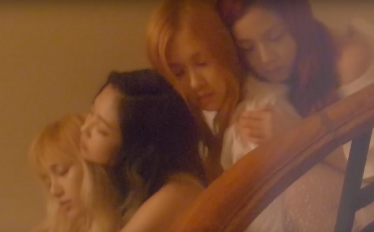 "Watch: BLACKPINK Gives Sneak Peek Into ""Playing With Fire"" In New ..."