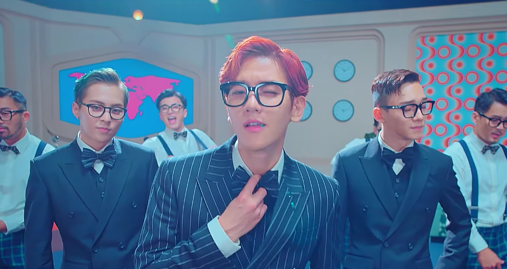 "Watch: EXO-CBX (Literally) Suits Up To Rebel Against The World In ""Hey Mama!"" MV"