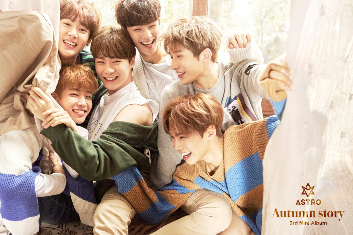 "Update: ASTRO Shares Comeback Timetable For ""Autumn Story"""