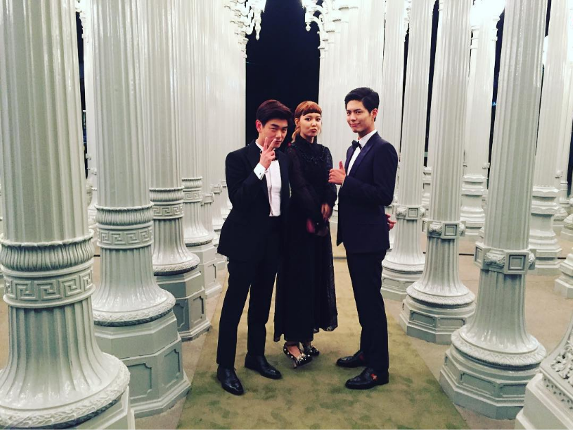 Eric Nam, Sooyoung, And Park Bo Gum Shine Brighter Than Iconic L.A. Background In Photo Together