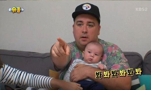 "Sam Hammington Is The Latest Father To Join ""The Return Of Superman"""