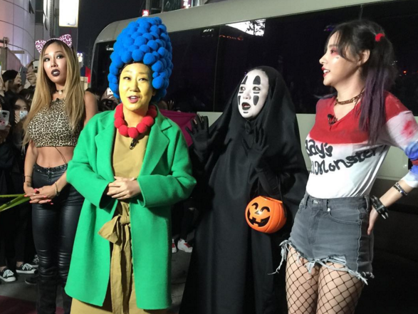 """Watch: Kim Sook From """"Sisters' Slam Dunk"""" Has A Fun Time Celebrating Halloween"""