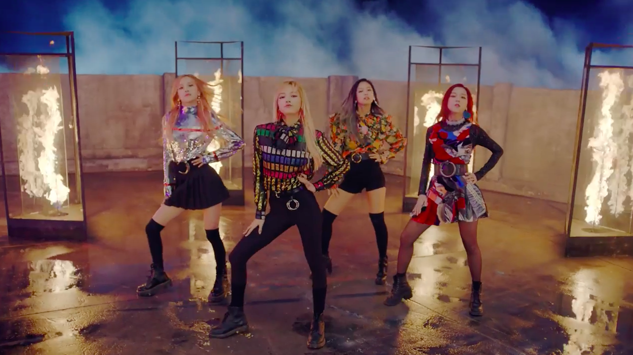 """Watch: BLACKPINK Returns With """"Playing With Fire"""" and """"Stay"""