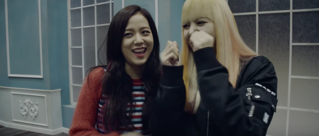 Watch: BLACKPINK Plays With Fire And Each Other Behind The Scenes Of MV