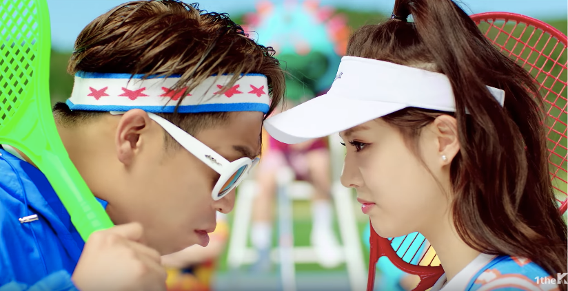 "Watch: MC Mong Returns With ""Visual Gangster"" Featuring Apink's Jung Eunji"