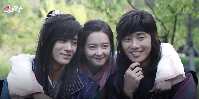 "Watch: ""Hwarang: The Beginning"" Releases Fun, Flower-Filled Behind-The-Scenes Video"