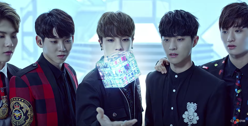 """Watch: BOYS24's Unit Yellow Gives Their All In Sci-Fi-Inspired MV For """"E"""""""