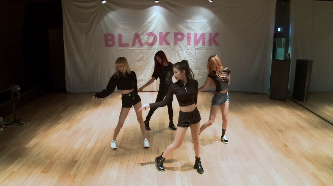 """Watch: BLACKPINK Turns Up The Heat In """"Playing With Fire"""" Dance Practice Video"""