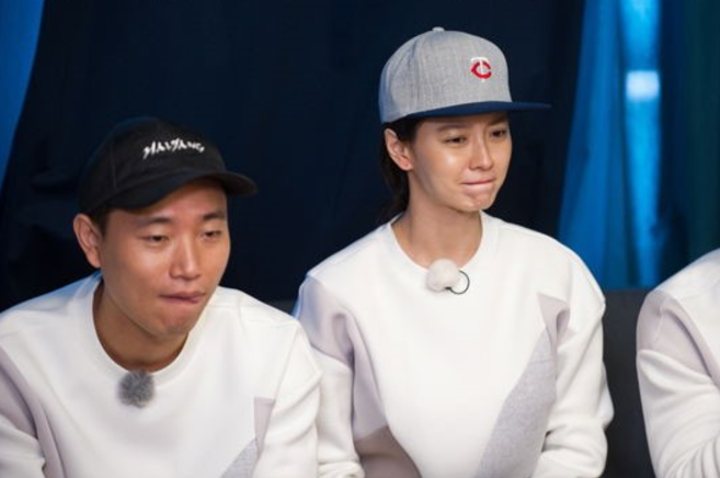 """Song Ji Hyo Is Determined Not To Cry On Gary's Last """"Running Man"""" Episode"""