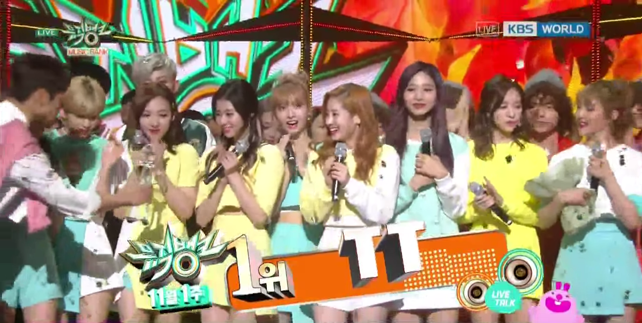 "Watch: TWICE Gets 4th Win For ""TT"" On ""Music Bank"" + Performances By EXO-CBX, VIXX, BTS, And More"