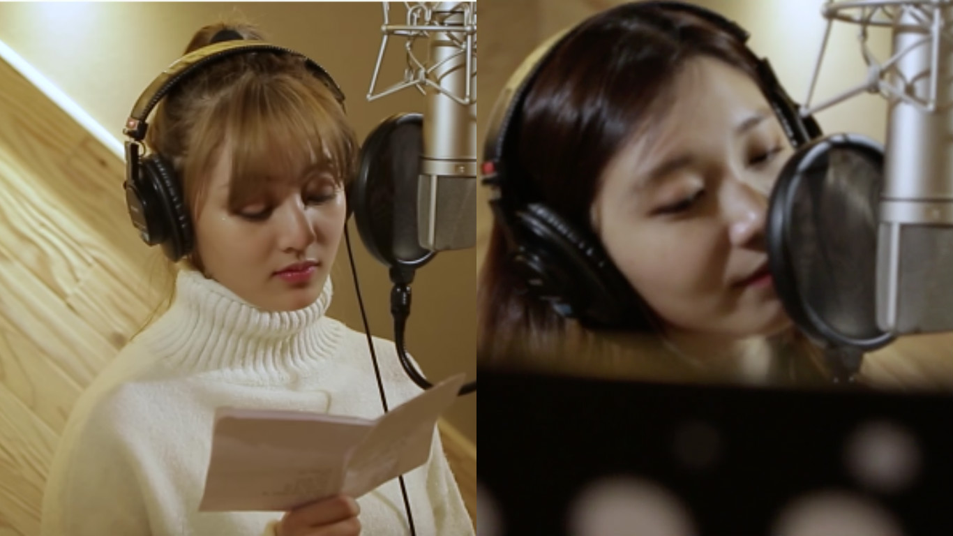"""Watch: TWICE's Jihyo, Apink's Jung Eun Ji, And Ben Star In Teasers For """"Inkigayo"""" Special Project"""