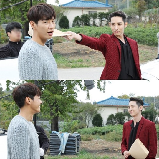 """Kim Young Kwang And Lee Soo Hyuk Keep The Bromance Alive On Set Of """"The Man Living In Our House"""""""