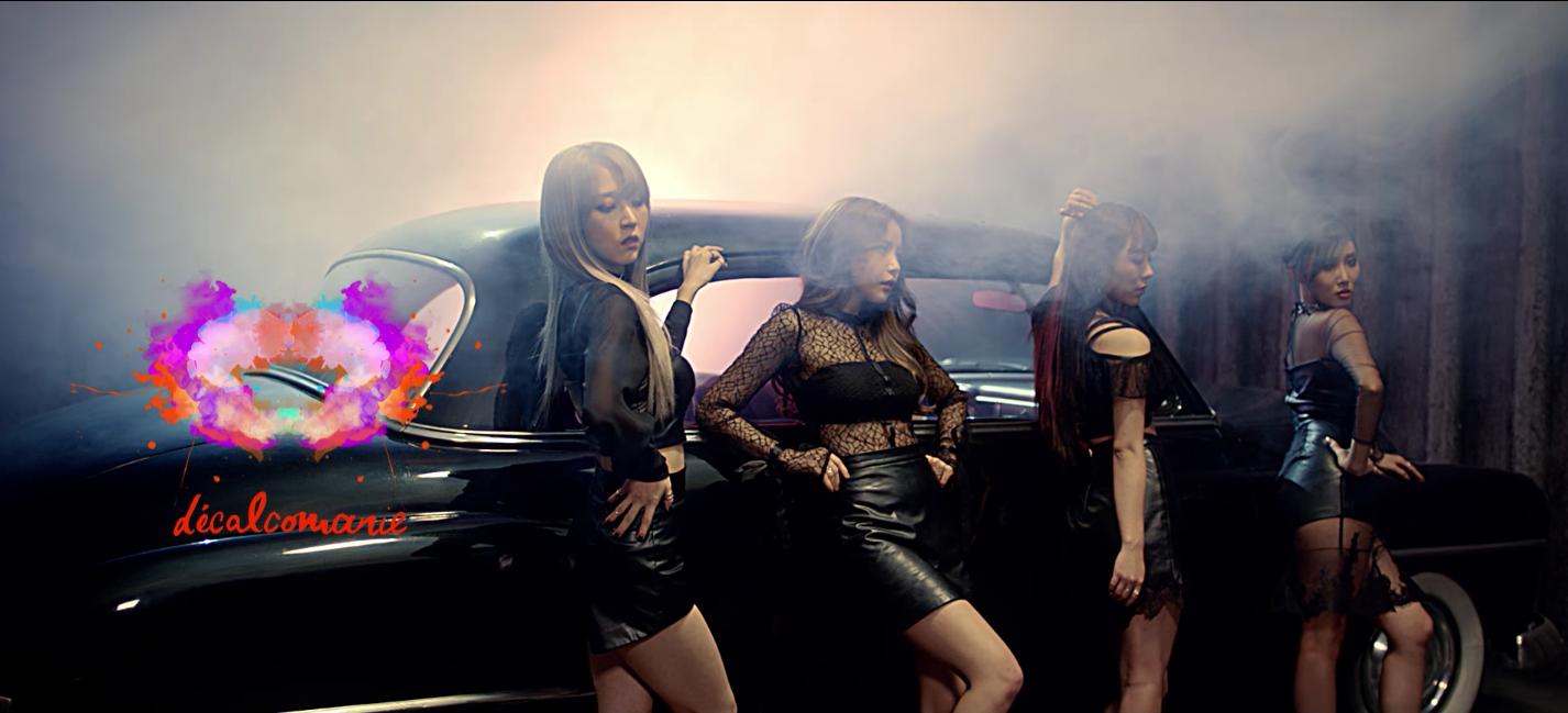 "Watch: MAMAMOO Are The Ultimate Femme Fatales In ""Décalcomanie"" MV"