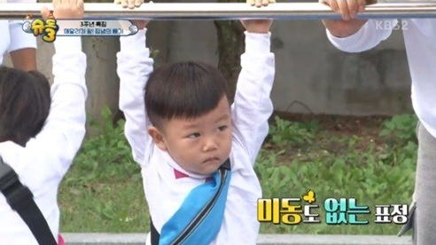 "Daebak Proves That Athleticism Runs In His Blood On ""The Return Of Superman"""