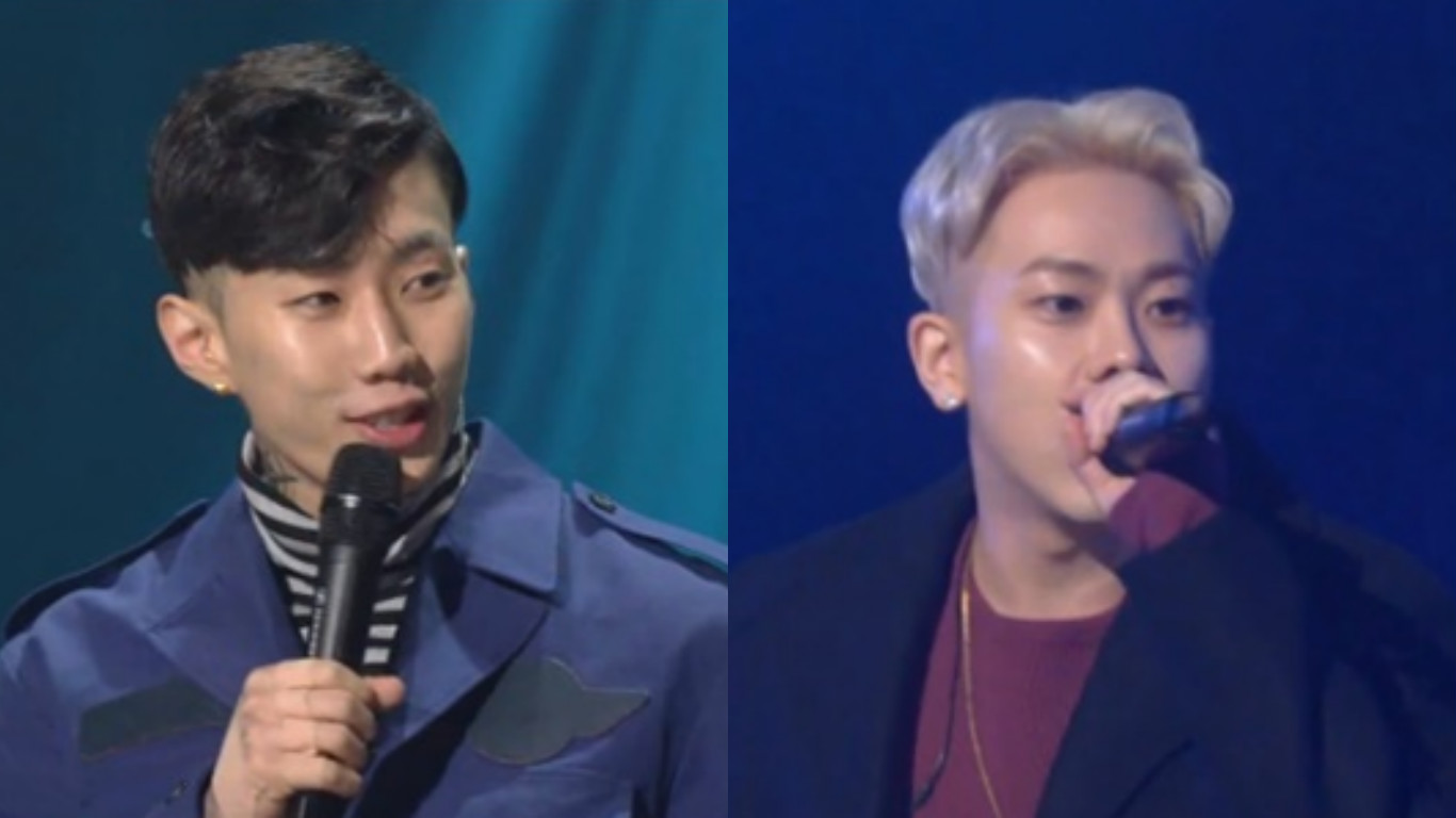 "Jay Park And Loco Humbly Answer Questions About Their Good Deeds On ""Yoo Hee Yeol's Sketchbook"""