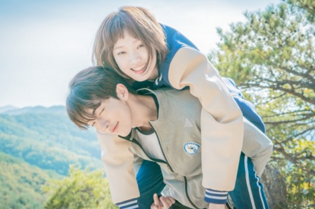 """""""Weightlifting Fairy Kim Bok Joo"""" Releases Adorable Stills Of Lee Sung Kyung And Nam Joo Hyuk"""