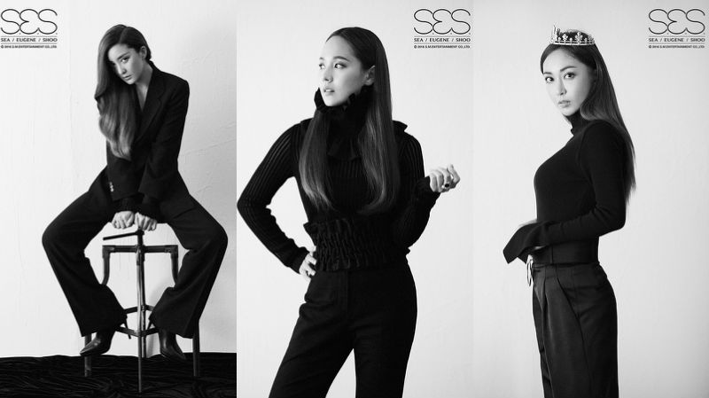 "Update: S.E.S. Releases Stunning Monochrome Teasers For 20th Anniversary Project ""Remember"""