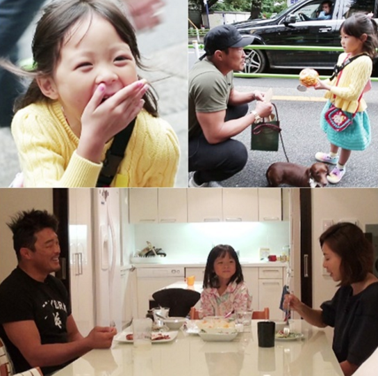 """Choo Sarang Is Adorable In Latest Stills For Upcoming """"The Return Of Superman"""" Episode"""