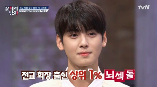 ASTRO's Cha Eun Woo Names His Role Models In Idol Industry