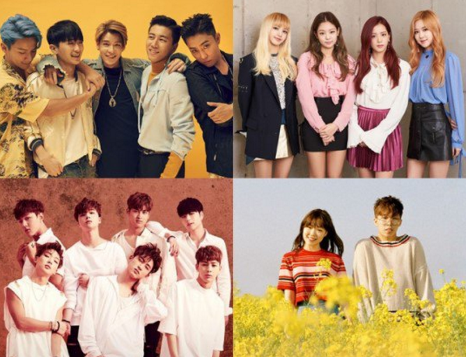 Sechs Kies, BLACKPINK, iKON, And Akdong Musician To Attend 2016 Melon Music Awards