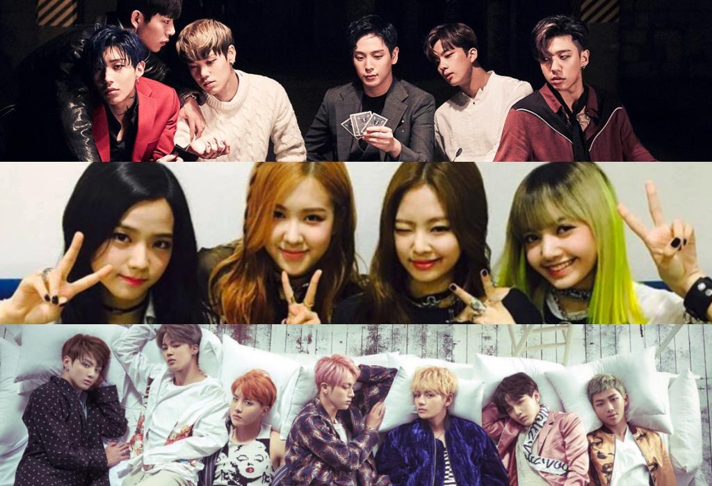 B.A.P, BLACKPINK, And BTS Top Billboard's World Album Chart
