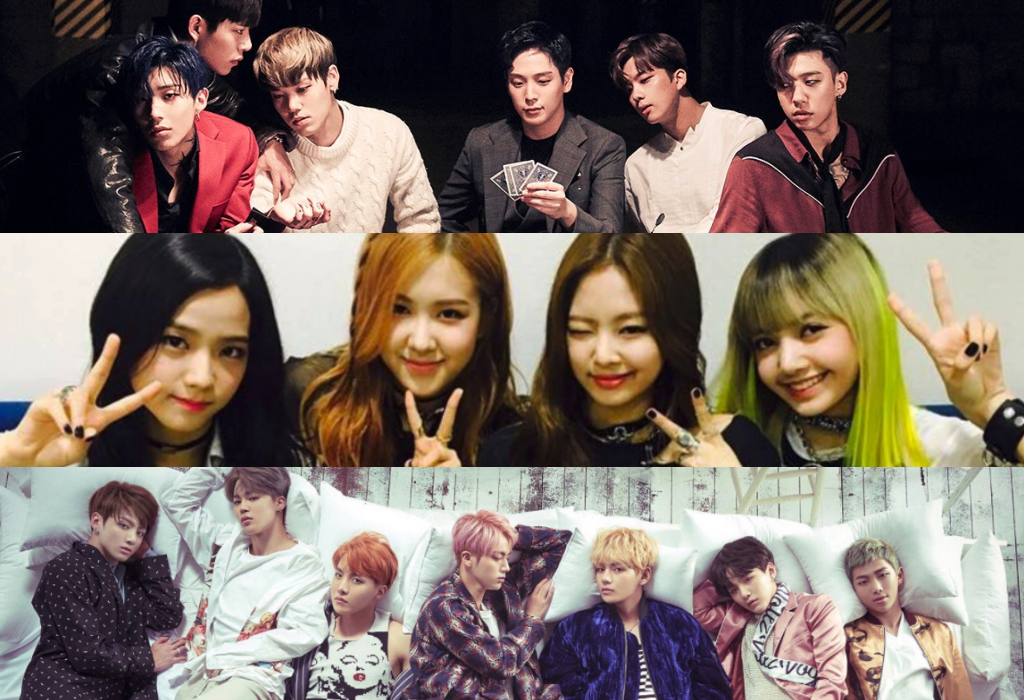 B.A.P, BLACKPINK, And BTS Top Billboard's World Album Chart