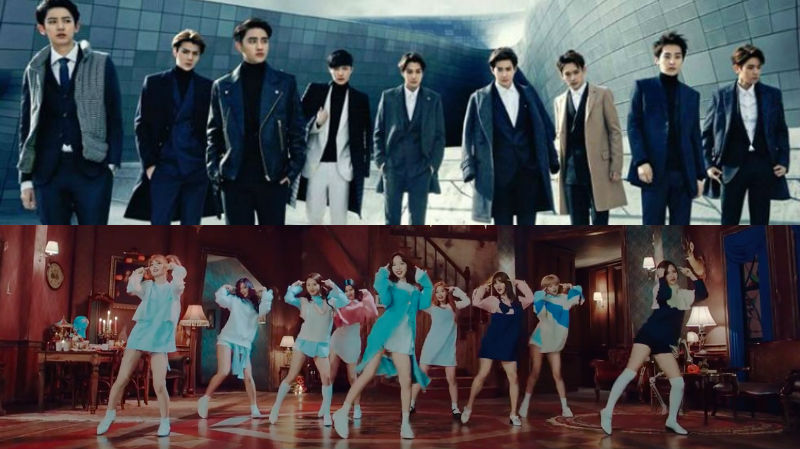 EXO, TWICE, And More Revealed As Second Lineup For 2016 Melon Music Awards