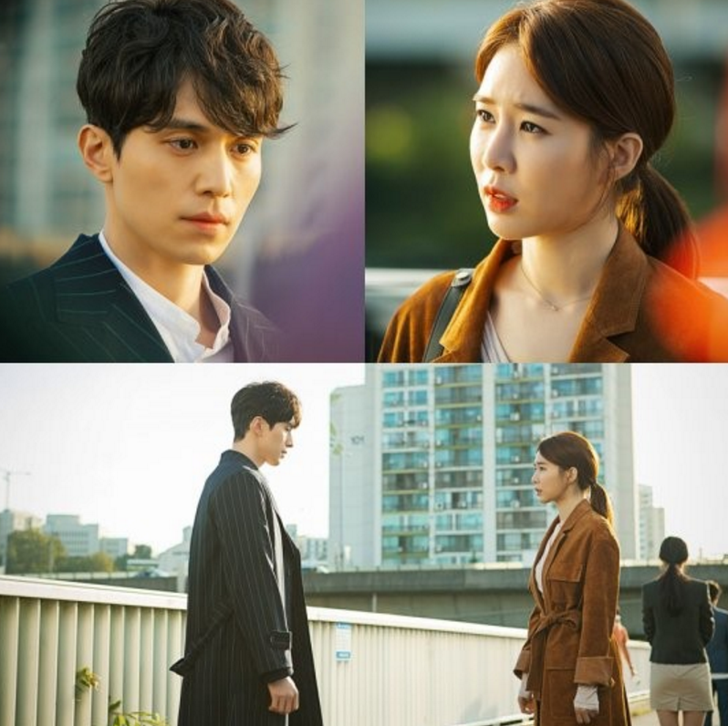 """""""Goblin"""" Releases Chemistry-Filled Stills Of Lee Dong Wook And Yoo In Na"""