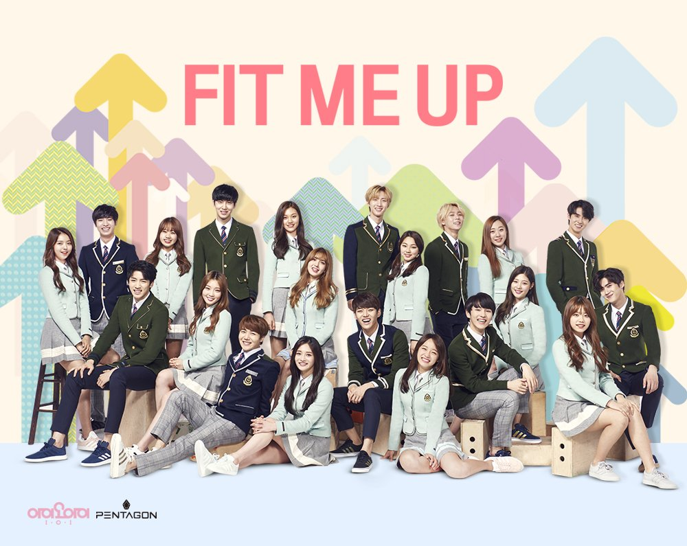 Watch: I.O.I And PENTAGON Bring Laughter And Style To New Elite CF