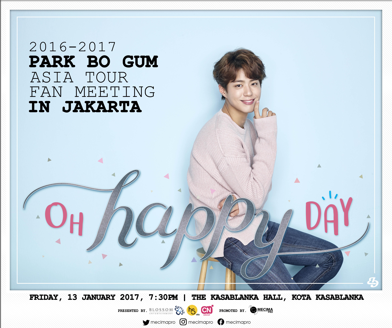 Park Bo Gum Announces Jakarta As A Stop On His Asia Tour