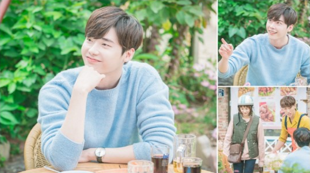 "Lee Jong Suk And Park Won Sang Appearing In ""Weightlifting Fairy Kim Bok Joo"" Today"
