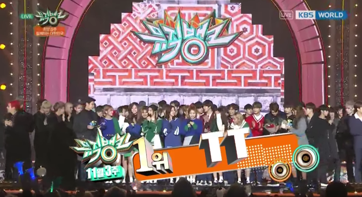 "Watch: TWICE Gets 9th Win With ""TT"" On ""Music Bank,"" Performances By SHINee, BTS, B.A.P, And More"